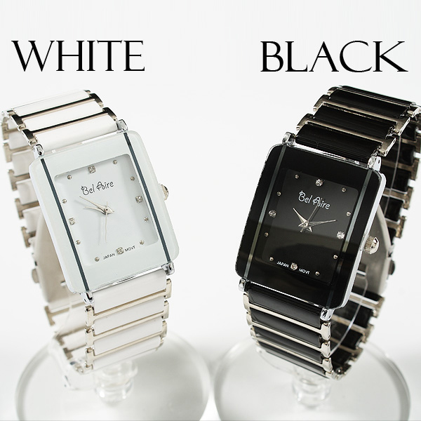 【ブレスレット感覚】★レディース・モノトーン&ストーンスタイル腕時計 OSD16-L2