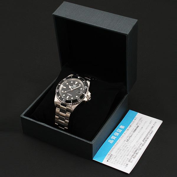 【カレンダー機能付き】★ミディアムフェイス自動巻き腕時計 BCG54-SV3