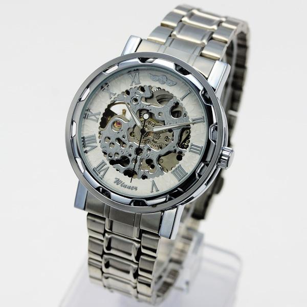【ギミックの効いた仕上がり】★フルスケルトン自動巻き腕時計 BCG32-SVWH2