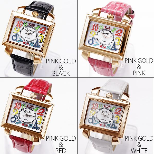 【シェル文字盤を使用!】★トップリューズ式ミディアムフェイス腕時計 OSD17-S2