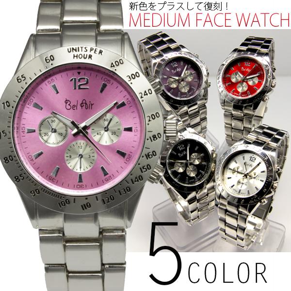 【回転式ベゼルを使用】★ミディアムフェイス腕時計 OSD671