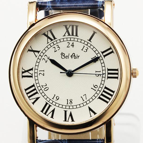 【ユニセックス仕様】★クラシカル&ミディアムフェイス腕時計 JH1-L2