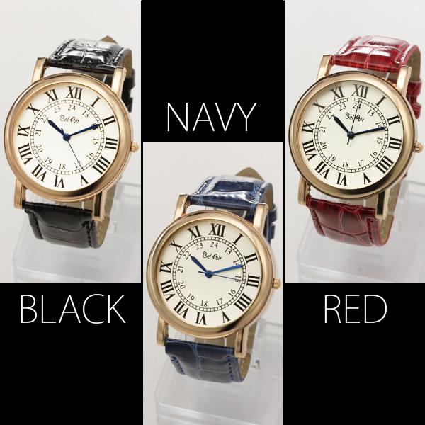 【ユニセックス仕様】★クラシカル&ミディアムフェイス腕時計 JH1-L3