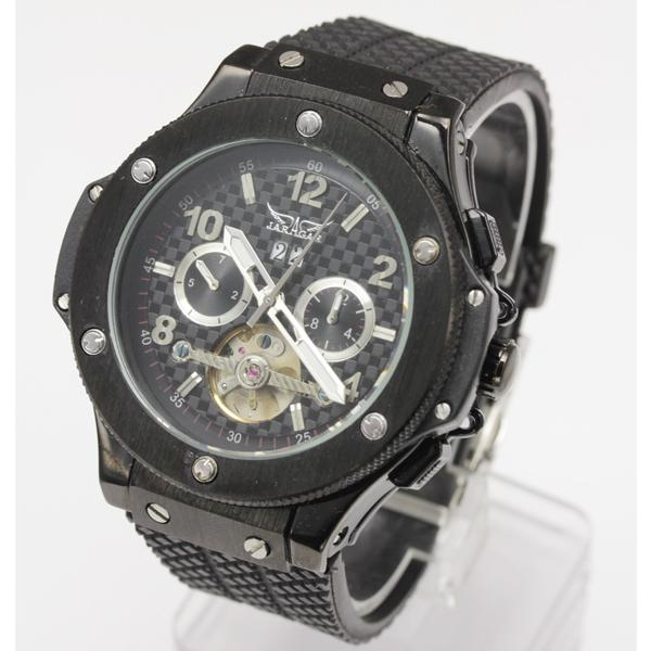 【全針稼動の本格仕様】★マルチファンクション自動巻き腕時計 BCG1082