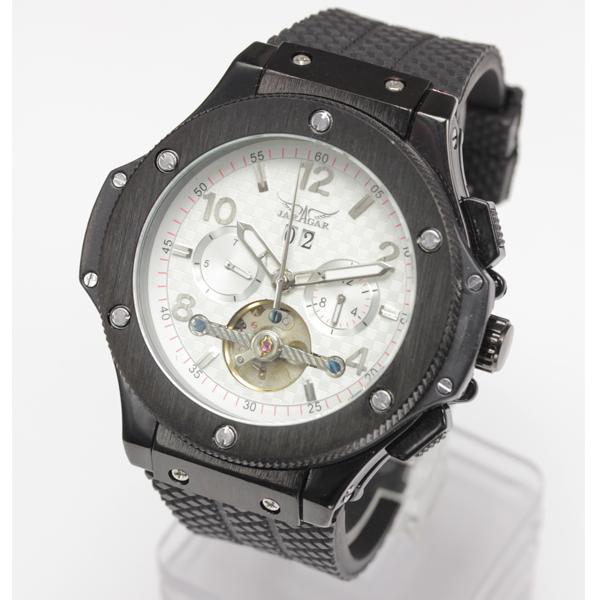 【全針稼動の本格仕様】★マルチファンクション自動巻き腕時計 BCG1083