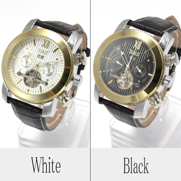 【全針稼動の本格仕様】★マルチファンクション自動巻き腕時計 BCG1092