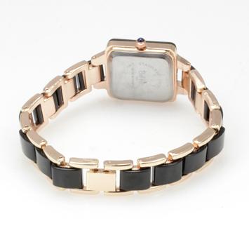 【レディース仕様】★スクエアフェイス レディース腕時計 TS1-BK2