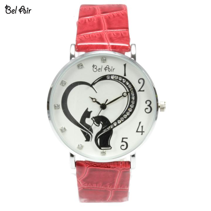 【レディース仕様】★ハートモチーフ レディース腕時計 OSD40【BOX・保証書付】4