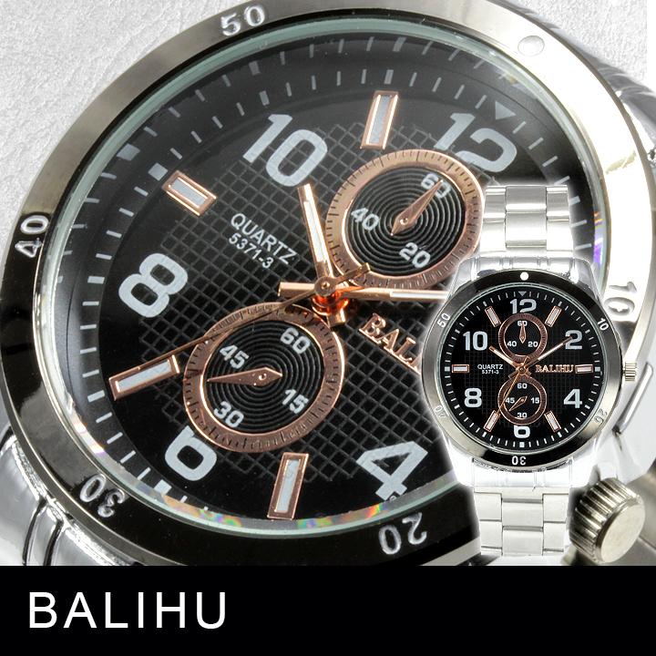 【メンズ仕様】★Bel Air Collection メンズ腕時計 DP5BK-L 【BOX・保証書付】1