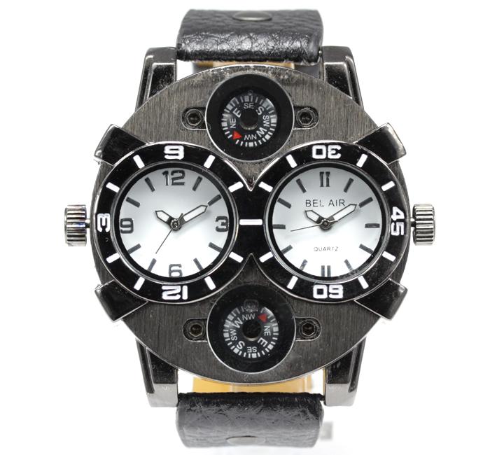 【コンパス搭載】マルチファンクション メンズ腕時計 SL1 【Bel Air collection】3