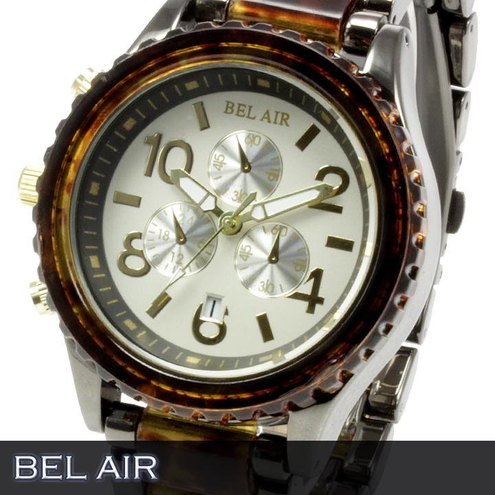 【Bel Air collection】 ★マルチファンクション メンズ腕時計 OSD55 【左利きモデル】2