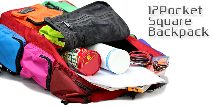 [ROSA] メンズ リュック スクエア バックパック BG-YZ15